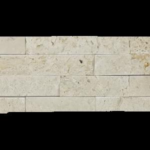 Ivory Travertine Ledger Stone