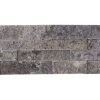 Silver Travertine Ledger Stone