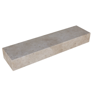 Walnut Travertine 6'' Block Step