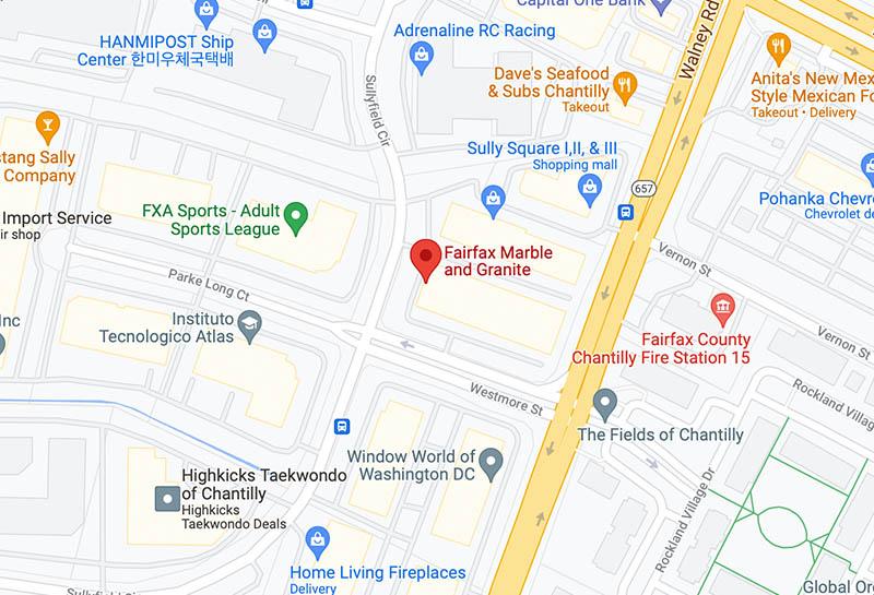 google-maps-Chantilly
